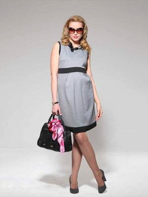 Сукня для вагітних сіра   4860251