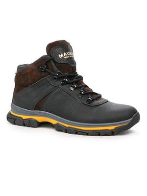 Ботинки черно-коричневые | 5241441