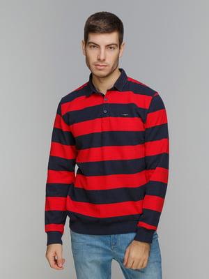 Джемпер червоно-синій | 5241037