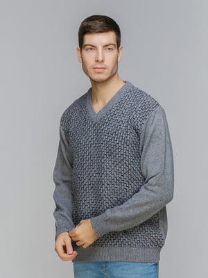 Пуловер серый | 5241095