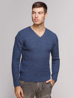 Пуловер синій   5241063