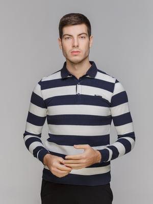 Джемпер біло-синій   5241036