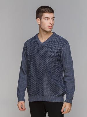 Пуловер синий | 5241093