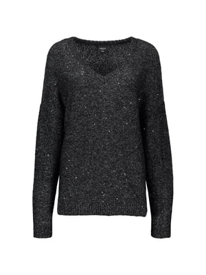 Пуловер чорний | 5256493