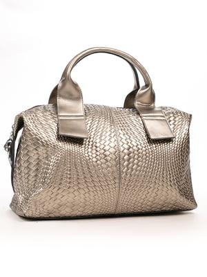 Сумка сріблясто-бронзового кольору - Farfalla Rosso - 5256078