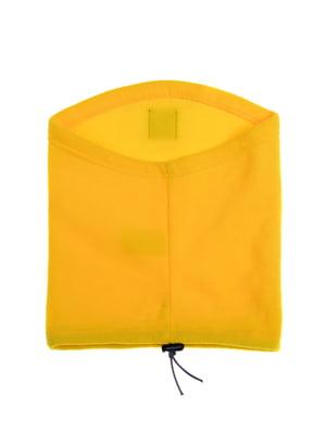 Шарф-снуд желтый | 5256937