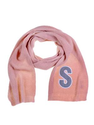 Шарф рожевий | 5256955