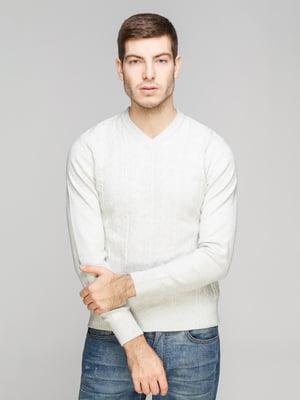 Пуловер светло-серый | 5254906