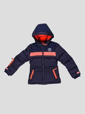 Куртка лижна синя | 5255545