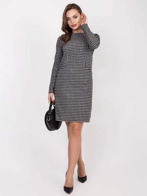 Платье черно-белое | 5257899