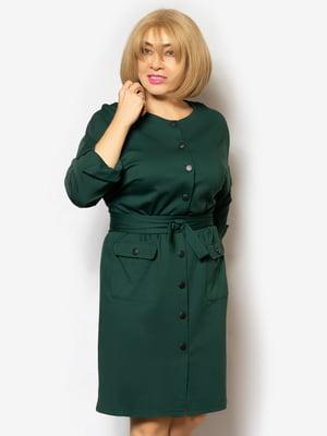 Платье зеленое | 5258149