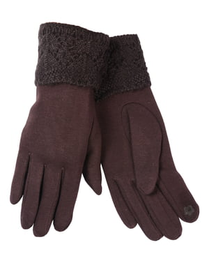 Перчатки коричневые | 5251503