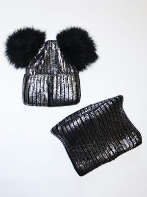 Комплект: шапка і шарф-снуд   5257943