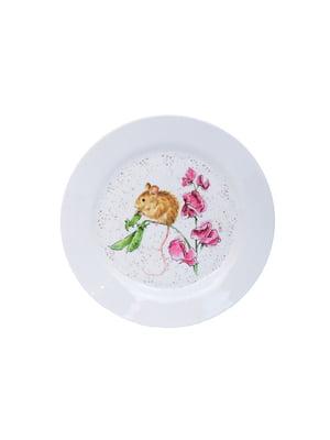 Тарілка сервірувальна «Мишеня» (25 см) | 5258941