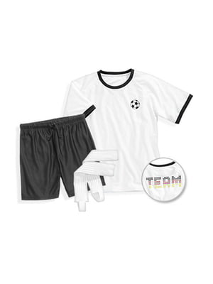 Костюм: футболка, шорты и гетры | 5257860