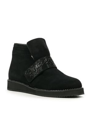 Ботинки черные   4520838