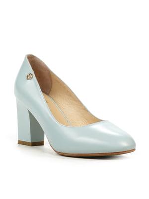 Туфлі блакитні | 4018006