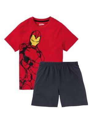 Пижама: футболка и брюки   5262065