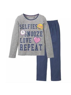 Піжама: лонгслів і штани   5262133