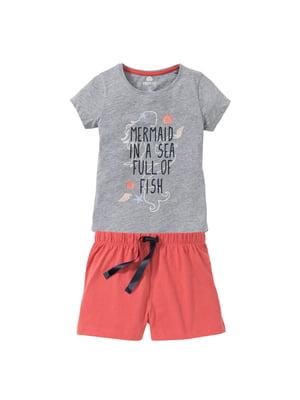 Піжама: футболка і шорти | 5262257