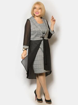 Комплект: платье и кардиган | 5262553