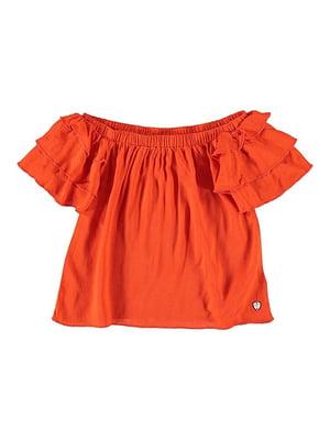 Блуза теракотова | 5262032