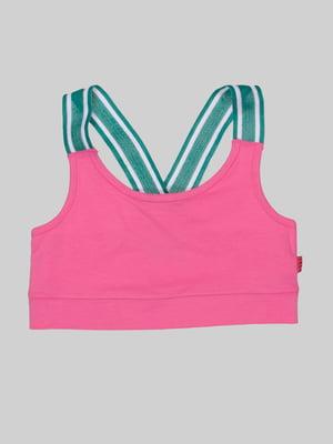 Топ спортивный розовый | 5262828