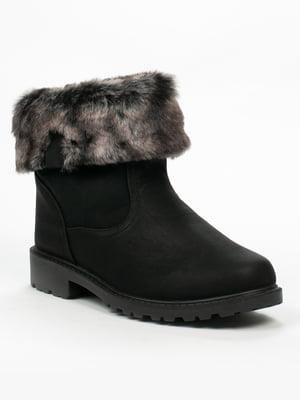 Ботинки черные | 5261922