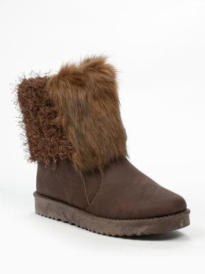 Ботинки коричневые | 5261927