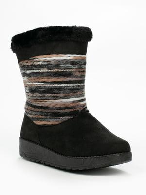 Ботинки черные | 5261924