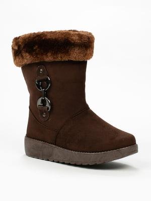 Ботинки коричневые | 5261925