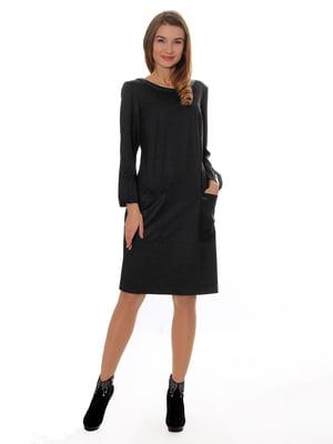 Сукня темно-сіра   5262616