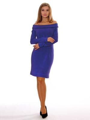 Платье синее | 5262719