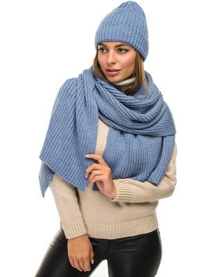 Комплект: шапка и шарф | 5256134