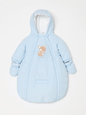 Конверт для немовляти блакитний | 5201166