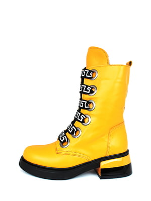 Ботинки желтые | 5265341
