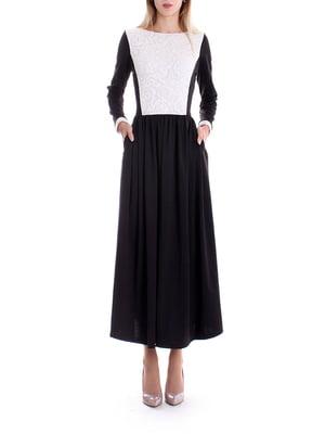 Сукня чорно-біла | 5265398