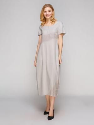 Платье серое | 5263886