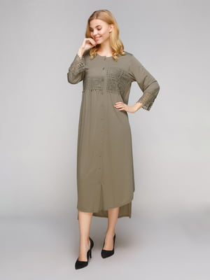Сукня оливкового кольору | 5263879
