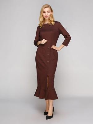 Платье коричневое | 5263858