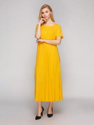 Платье желтое | 5263873