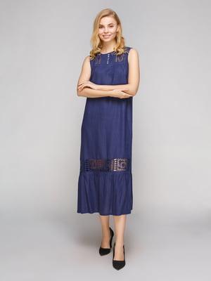 Сукня темно-синя | 5263863