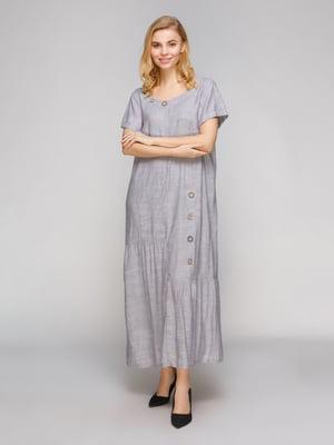 Сукня світло-сіра | 5263877