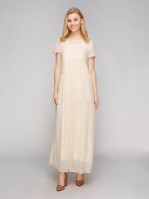 Сукня молочного кольору | 5263891