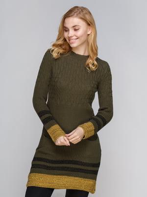 Платье зеленое | 5254271