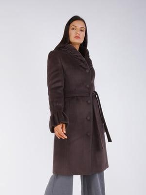 Пальто цвета графит - CORRERA - 5256812