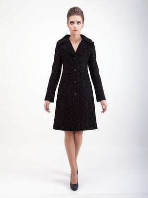 Пальто черное - CORRERA - 5266205