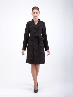 Пальто черное - CORRERA - 5266215