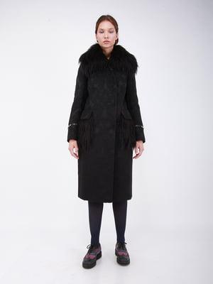 Пальто черное - CORRERA - 5266216