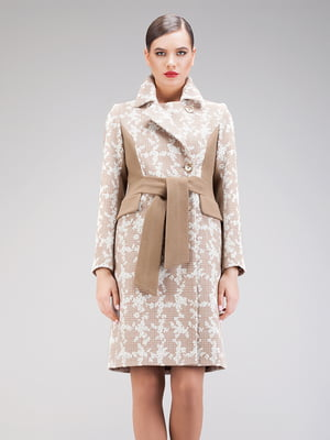 Пальто бежевое - CORRERA - 5266241